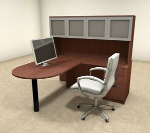 4pc L Shaped Modern Executive Office Desk ot sul l42