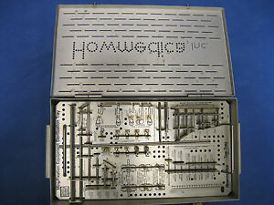 Howmedica Mini frame Components Instruments Pin Case