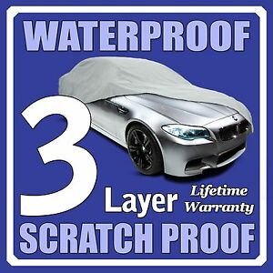 3 Layer Suv Cover Waterproof Layers Outdoor Indoor Car Truck Fleece Lining Fig1