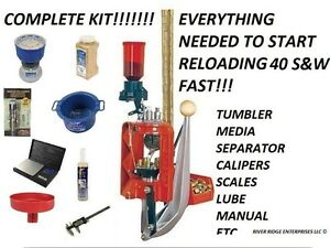 Lee Loadmaster Progressive Press 40 s&w Lee 90940 - COMPLETE KIT FOR RELOADING