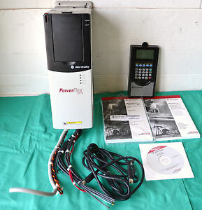 Allen Bradley Powerflex 700 Ac Drive 480v 3ph With Software Disc And Manual
