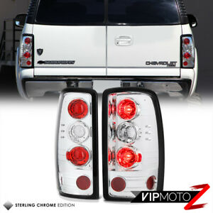 For 00 06 Chevy Suburban Tahoe Gmc Yukon Denali Chrome Red Barn Door Tail Light