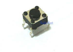 Tiny Momentary 6 X 6 X 4 3mm Micro 4 Pos Tact Tactile Push Button Switch X 10