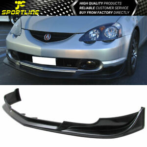 Fits 02 04 Acura Rsx Couple Urethane Front Bumper Lip Spoiler Black C West Style