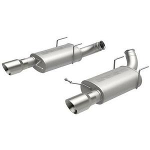 Magnaflow Dual Stainless Cat Back Exhaust For 2011 2014 Mustang Gt 15151