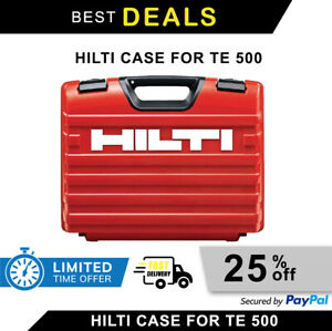 Hilti Case For Te 500 Brand New Empty Original Heavy Duty Fast Shipping