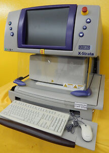 X ray Spectrometer Oxford X strata 960 Xrf Analyzer Thickness Plating Gauge Bath