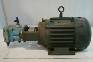 Reliance Electric Motor Hydraulic Pump B458f5 694y