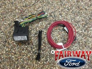 Edge Flex Escape Oem Genuine Ford Trailer Towing Wiring Harness Kit 4 Pin New