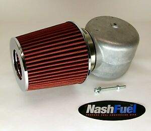 Impco Adapter Air Filter Cleaner Ct425m Propane Mixer Kn 425 Snorkel Lpg 4 Horn