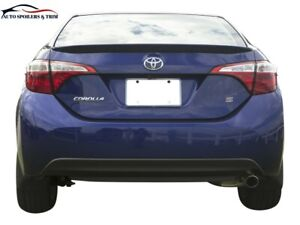5403m Painted Factory Style Lip Spoiler Fits The 2014 2018 Toyota Corolla