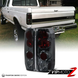 Bestlook 1989 1996 Ford Bronco F150 F250 F350 Smoke Red Rear Tail Lights Lamps