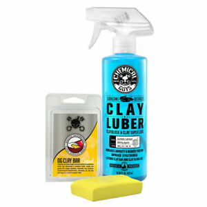 Chemical Guys Cly113 Clay Bar Luber Synthetic Lubricant Kit Light Medium