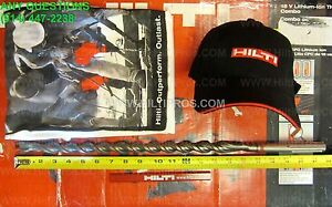 Hilti Bit Te yx 7 8 X 21 Sds Max Preowned Mint Condition Extras Fast Ship