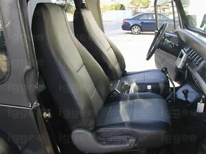 Suzuki Samurai 1986 1993 Leather like Custom Seat Cover