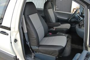 Toyota Previa Mini Van 1990 1997 Leather Like Custom Fit Seat Cover