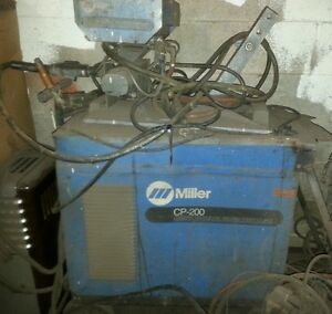 Miller Cp 200 With 14 Pin And S 52a Wire Feeder
