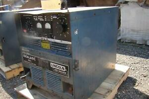 Lincoln Arc Welder Idealarc R3s Cv Dc Power Source 230 460v 3 Phase Ac432940