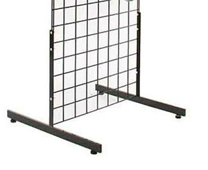 Lot Of 5 Sets Of 2 Grid Gridwall Panel Legs Stand New