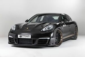 Porsche Panamera 970 Body Kit Front Rear Bumper Hood Spoiler Side Skirts Turbo S