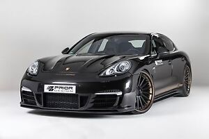 Porsche Panamera 970 Body Kit Front Bumper With Lip Spoiler Splitter S Turbo v6