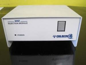 Gilson 845z Injection Module For Hplc System Used