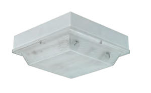 Incon Lighting Close To Ceiling Impact Resistant Light Fixture 3500 Kelvin New