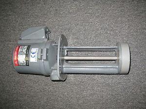 Mc 8150 Coolant Pump For Lathe Grinder Mill 3 Phase 150mm 230 460