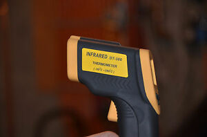 Non contact Ir Infrared Thermometer Laser Point Gun Lcd Screen