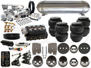 Complete Air Ride Suspension Kit 1963 1965 Buick Riviera Level 4 W Accuair