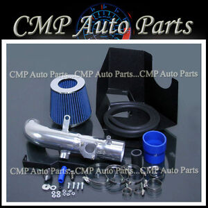Blue Cold Air Intake Kit Fit 2002 2006 Toyota Camry Base Le Se Xle 2 4 2 4l