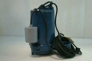 Zabel Submersible Effluent Pump 115v 1 2hp 37kw 13a 1ph 3450rpm Pl se 12t