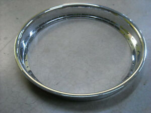 19 Inch Raw Outer Reverse Lip Rolled Flange Fits Asanti Lexani Hre And More