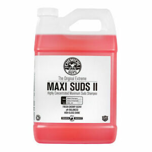 Chemical Guys Cws101 Maxi Suds Ii Snow Foam Cleanser Car Wash Soap 1 Gal