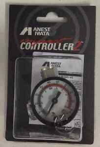 Anest Iwata Air Regulator Ajr 02s Vg Hand Pressure Gauge For Spray Guns New