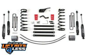 Zone Offroad D46n D47n 5 Full Suspension Lift Kit For 1994 2002 Dodge Ram 2500