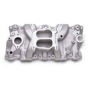 Edelbrock Performer Intake Manifold 2104 Chevy Sbc Fits 8795 350 Tbi Heads