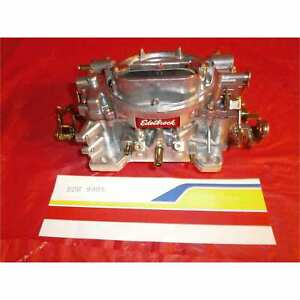 Edelbrock 9905 Carburetor Remanufactured 1405 600 Cfm Manual Choke