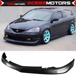 Fits 02 04 Acura Rsx Mugen Style Front Bumper Lip Spoiler Splitter Pu