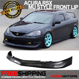 Fits 02 04 Acura Rsx Mugen Style Front Bumper Lip Spoiler Poly Urethane