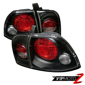For Honda Accord 96 97 2 4dr Black Tail Light center Trunk Signal Assembly F22