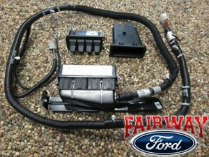 05 Thru 07 Super Duty F250 F350 F450 F550 Oem Ford In Dash Upfitter Switch Kit