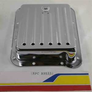 Racing Power Rpc R9531 Auto Transmission Oil Pan Chrome Ford C4 Transmission