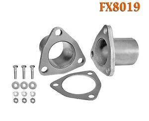 Fx8019 2 1 4 Od Universal Quickfix Exhaust Triangle Flange Repair Pipe Kit