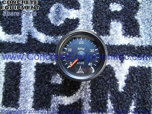 Panel Tachometer 30330555 For Schwing Concrete Pump