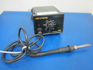936 Hako Soldering Station With 907 24v 50w Soldering Iron