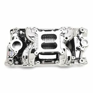 Edelbrock 75014 Intake Manifold Endurashine Small Block Chevy Rpm