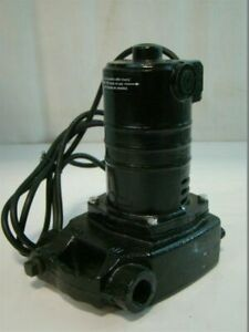 Portable Cast Iron Utility Pump 120v 8 4a 1500gph 25 Gpm 3 4 in 6 10 Cord