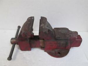 used Columbian D45 m4 5 Bench Vise