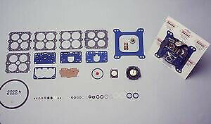 Carb Rebuild Kit Non stick Blue Gaskets Holley 4160 Vacuum Secondary Carb